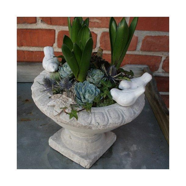 Fuglebad/planteskål (Ø 22 cm)