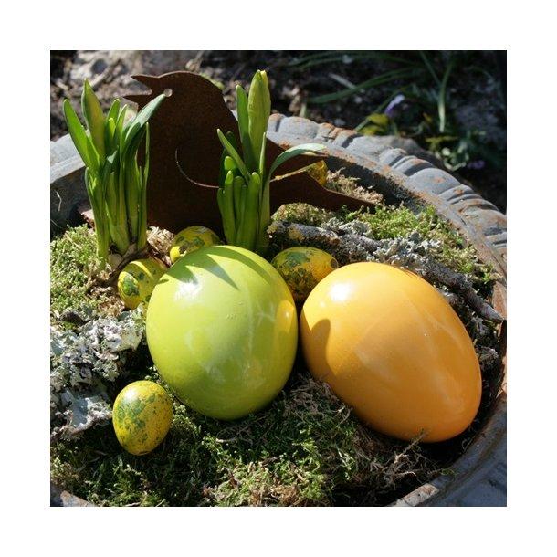 Æg, gul og lime (6 stk.)