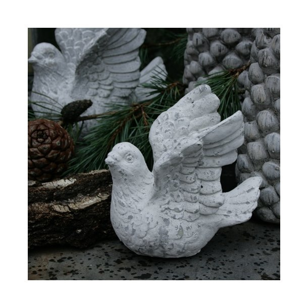 Fugl, hvid (lille)