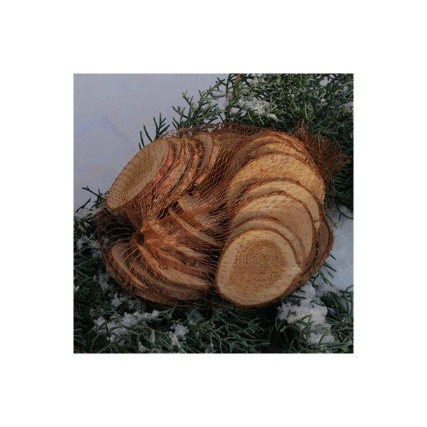 Træskiver i net (runde)