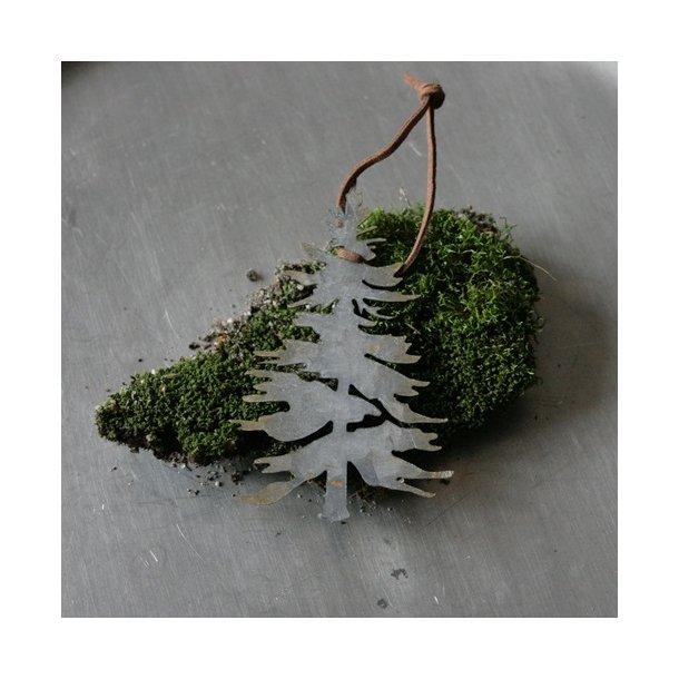 Juletræ, metal, lille ophæng
