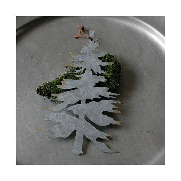 Juletræ, metal, stort ophæng
