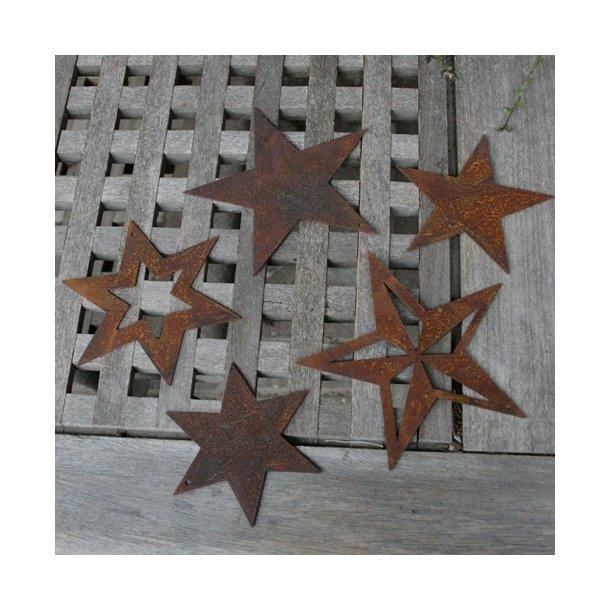Stjerner, rust (5 stk.)
