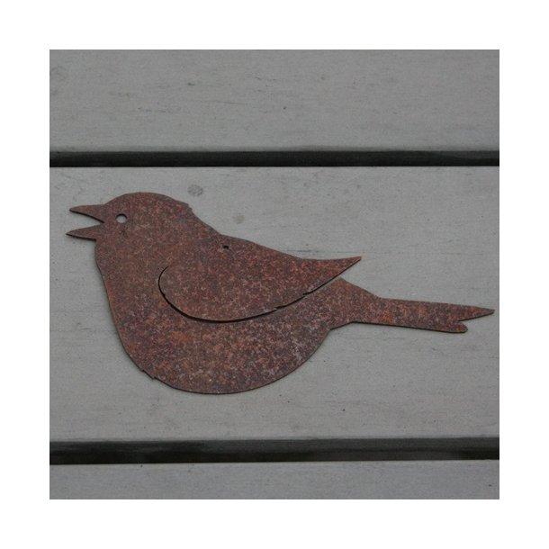 Fugl, syngende til ophæng