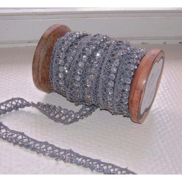 Bånd med perler (1 m)