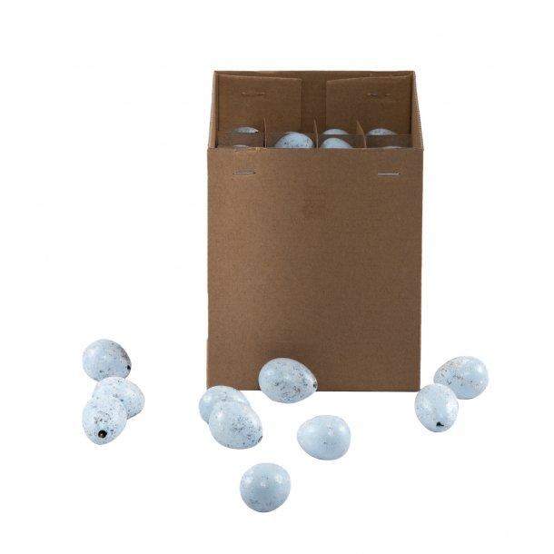 Vagtelæg, lyseblå (box m/100 stk.)