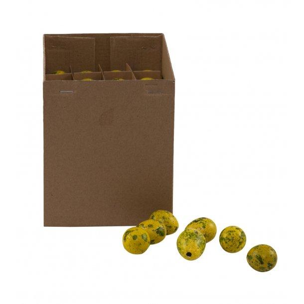 Vagtelæg, gule (box m/100 stk.)