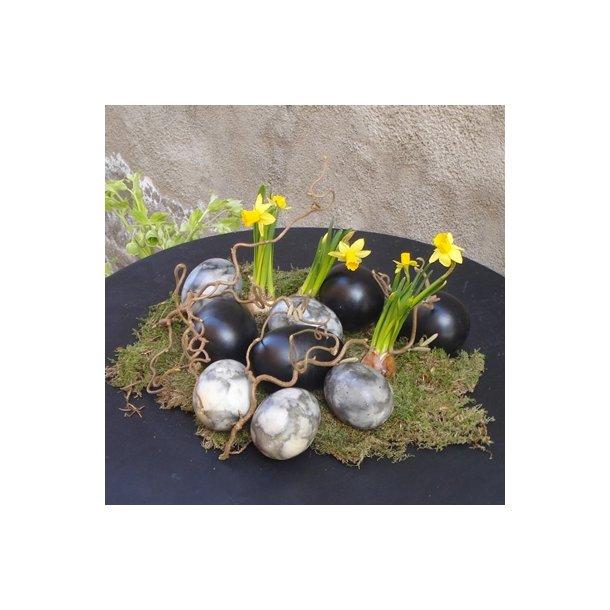 Keramik æg, sorte