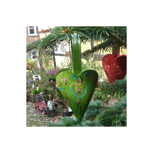 Hjerte, grøn metal