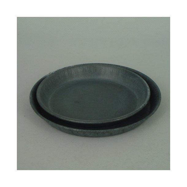 Underskål zink, 11 cm