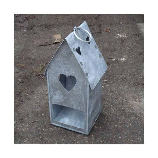 Fuglefoderhus i zink