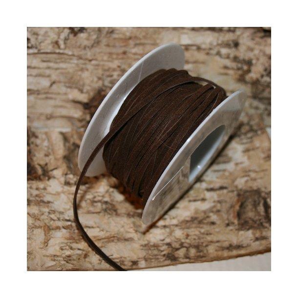 Lædersnørre, brun (5 m)