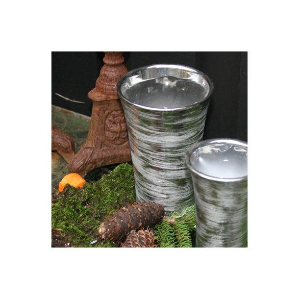 Vase sølv, stor