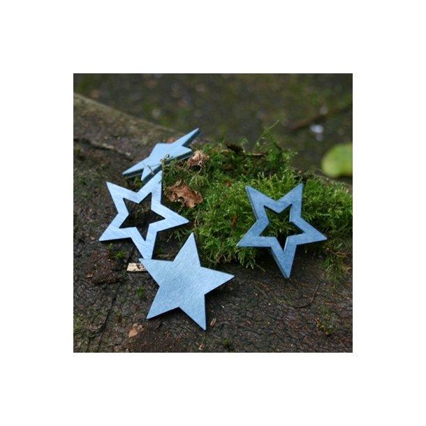 Stjerner, blå, stor