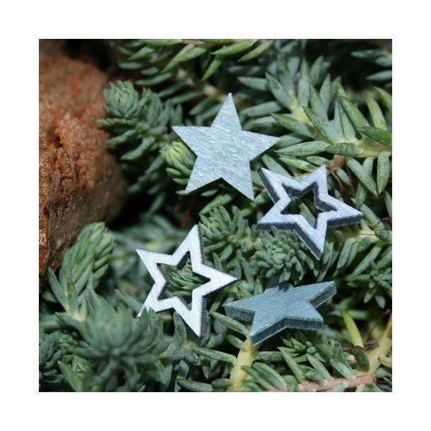 Stjerner, blå, små