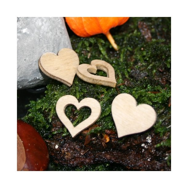 Hjerter, natur små
