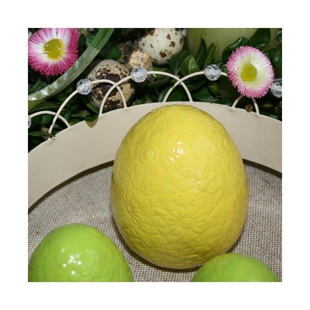 Æg, gul