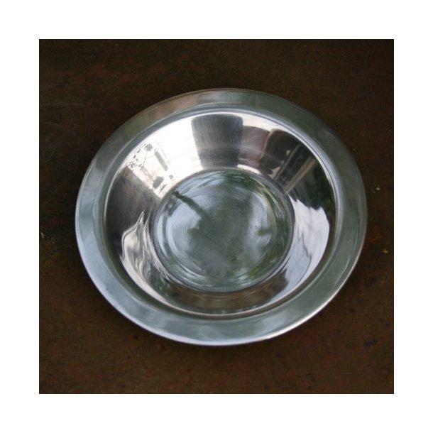 Underskål aluminium, 12 cm