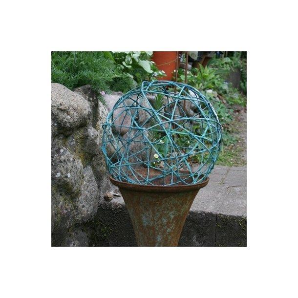 Trådbold, irret grøn( 25 cm)