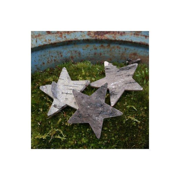 Bark stjerner, 5 cm (10 stk.)