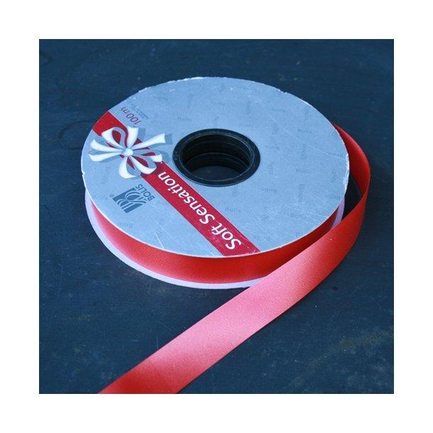 Rejsekransebånd, rød 20 mm (100 m)
