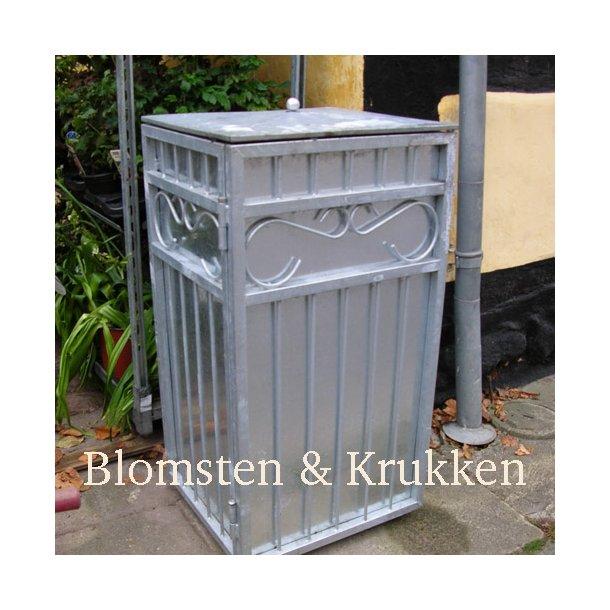 Affaldsstativ, galvaniseret