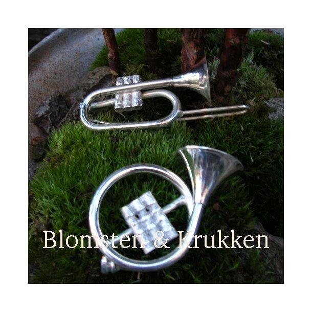 Trompeter, pletsølv