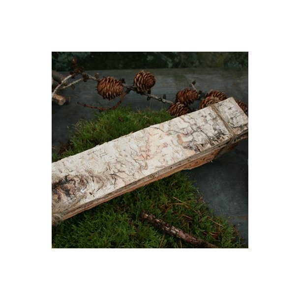 Birkebark i plader, smalt (10 stk.)