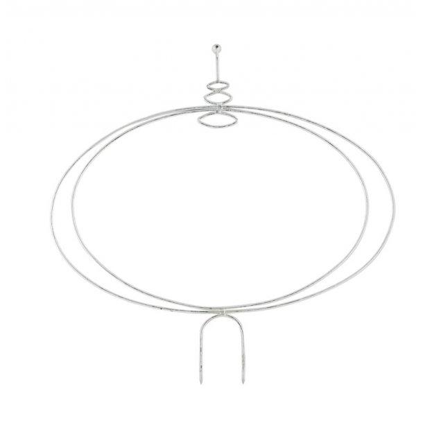 Bøjle, oval (sølv H35)