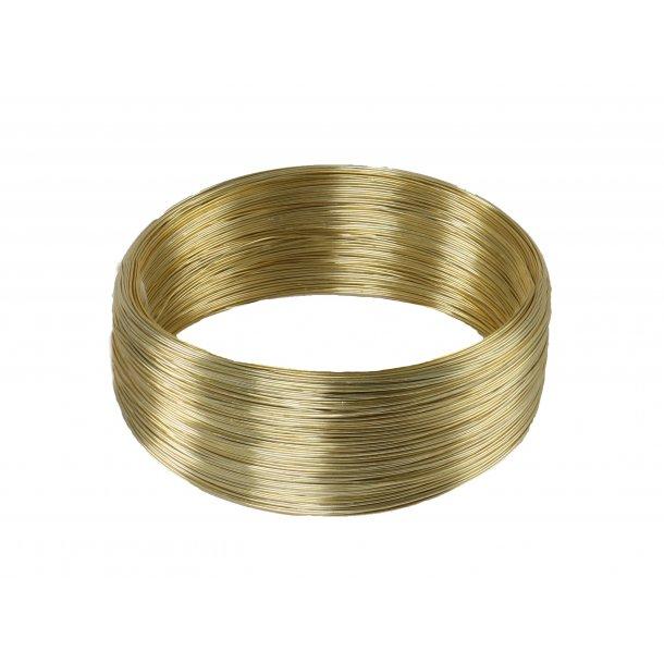 Bonzaitråd, guld 1 mm (500g)
