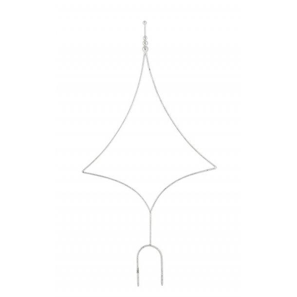 Bøjle, juletræ (sølv)